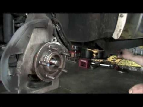 front wheel bearing car fix diy