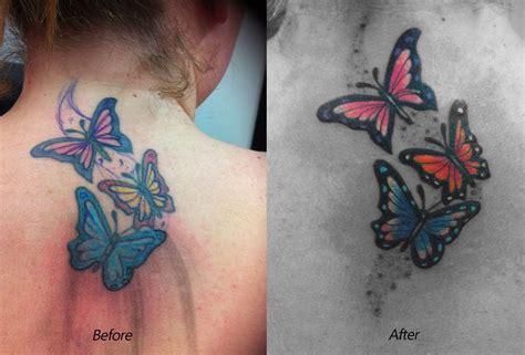 butterfly tattoo shop butterfly tattoo repair by body mods on deviantart