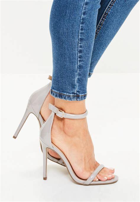 High Grey grey high heels heels zone