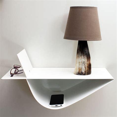 Table De Nuit Design by Chevet Suspendu Design Table Suspendue Chevet Mural Blanc