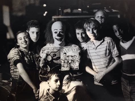 film it original cast exclusive face to face with pennywise talking horror