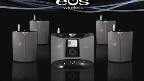 Ces 2007 Icar Ipod Dock And Speaker by Intellitouch Eos Wireless Speaker System For Ipod
