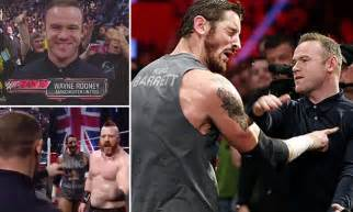 11 10 Forecasting Mba Lucky 7 by Wayne Rooney Slaps Wade Barrett At After 6ft 7in