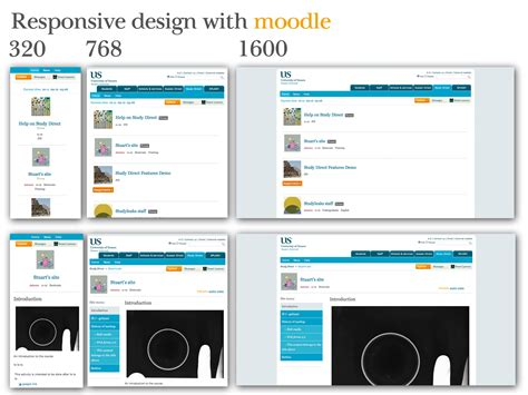 moodle themes for mobile moodle in english responsive web design