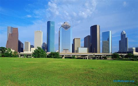 www hou houston skyline wallpapers wallpaper cave