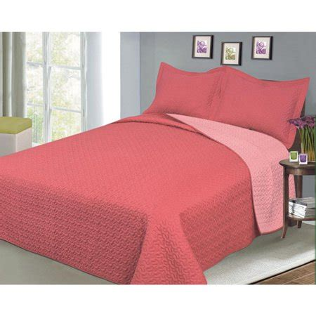 salmon colored bedding luxury fashionable reversible solid color bedding quilt