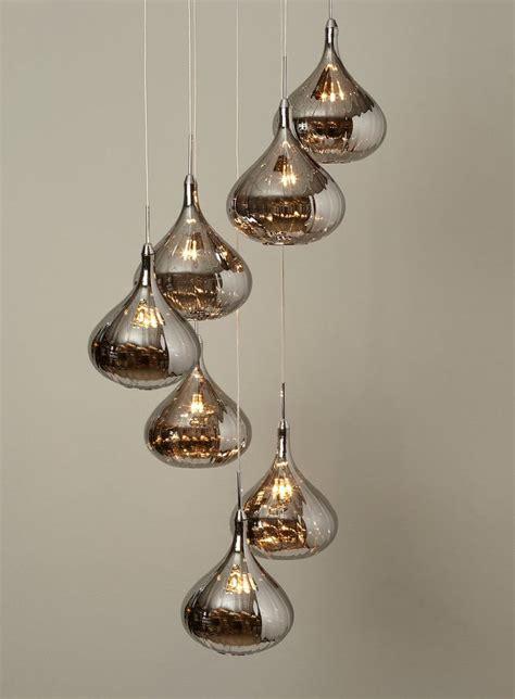 Leah Smoked Cluster Pendants Ceiling Lights Lighting Bhs Chandeliers
