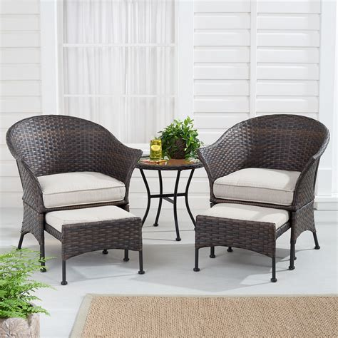 mainstays arlington glen  piece outdoor furniture patio