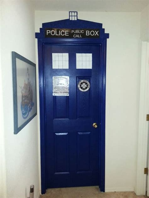 tardis door for update behr paint in sailboat s h 590 made me do it