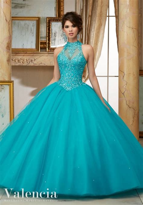 Dress Valencia Blue scarlet gowns and quinceanera dresses on