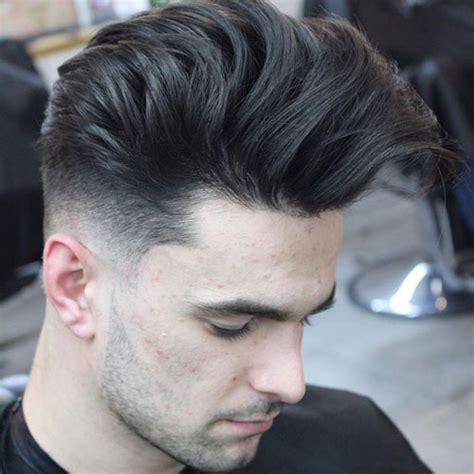 long hair with low fade low fade haircut