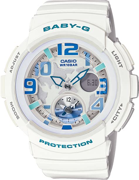 Baby G Bga 190 7b bga190 7b baby g white womens watches casio baby g