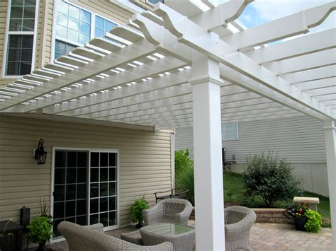 Pergola for Backyard Patio by Archadeck, St. Louis Mo