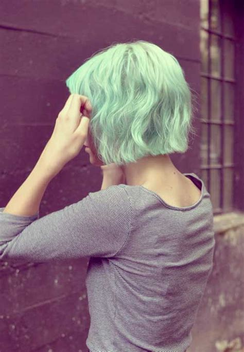 Light Green Hair by Hair Color And Cuts Hairstyles 2016 2017