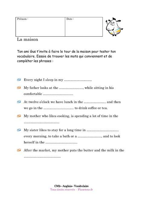 serré en anglais exercice anglais vocabulaire maison ventana blog