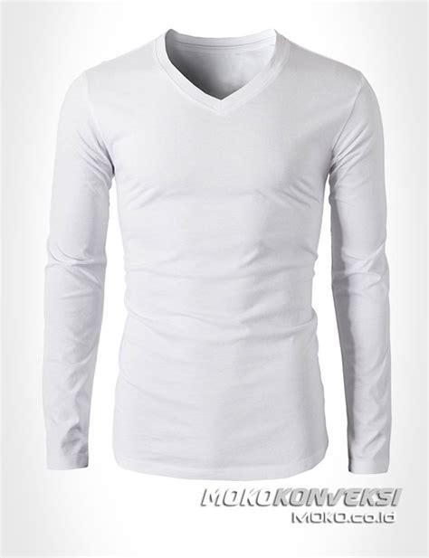 Baju Kaos Pria 217 harga jual harga baju putih polos lengan panjang jual