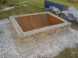 Barrel Fire Pit by Diy Fire Pit With Custom Cap Stone