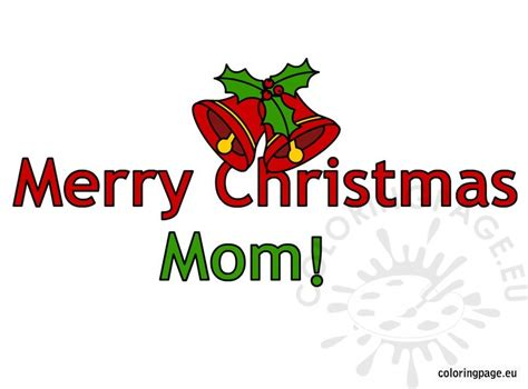 merry christmas mom coloring pages pin christmas ornament coloring page on pinterest
