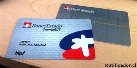 banco del estado de chile c 243 mo solicitar una cuenta rut del banco estado