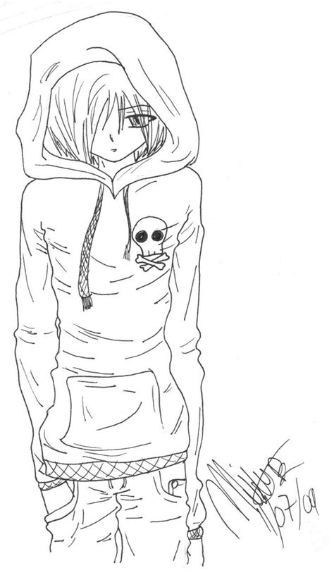emo anime girl coloring pages 17 best images about cool pictures i like p on pinterest