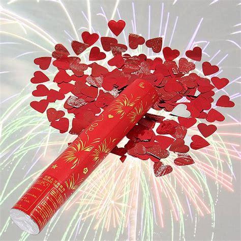 Popper Confetti 30 Cm popper confetti shooter parti kracher coeur 30 cm trends