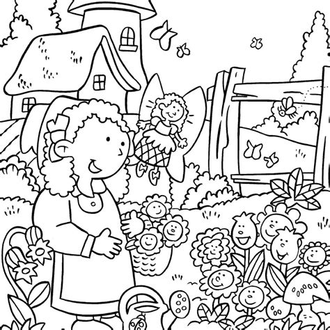 beautiful garden coloring page pleasant view of some attractive gardens 17 gardens