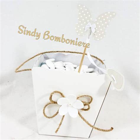 cestini porta confetti cestino in cartoncino porta confetti per confettata