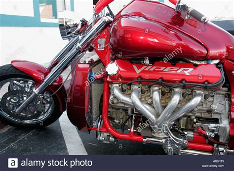 Bosshoss Motorrad Motor by Daytona Florida A1a Bike Week Hoss Dodge Viper