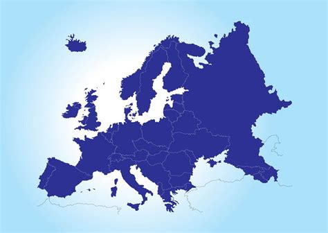 map  europe vector art graphics freevectorcom