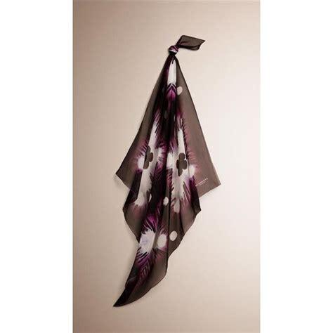 Burberry Square Dress burberry tie dye silk square medium featuring polyvore