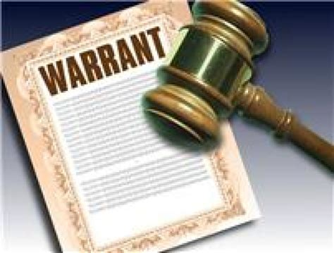 Local Warrant Search Monday Warrants