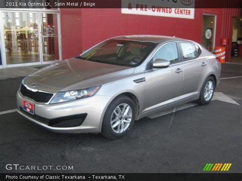 Kia Optima Satin Metal Satin Metal 2011 Kia Optima Lx Beige Interior