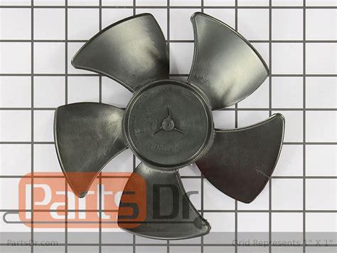 refrigerator condenser fan blade wpw10139483 whirlpool condenser fan blade parts dr