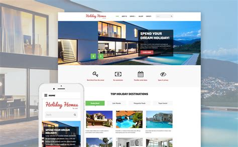 houses for rent websites home rent website template