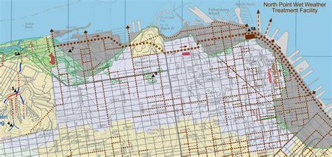 san francisco landfill map landfill map san francisco images