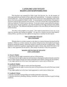 tenant landlord lease agreement template best photos of landlord agreement template free