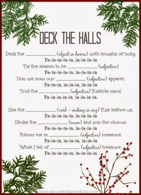 printable holiday mad libs 24 best images about mad libs on pinterest
