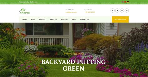 themes wordpress garden 30 best gardening landscaping wordpress themes in 2018