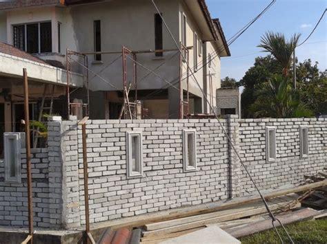 membuat pondasi rumah sendiri cara buat rumah batu cara buat rumah batu membina pagar