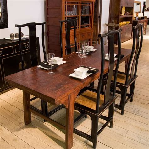 narrow dining table with bench narrow dining table set with benches from indoor furniture