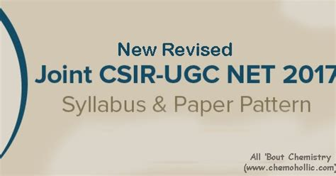pattern of csir net exam csir new exam pattern revised exam scheme all bout