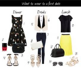 All dressed up what to wear on a first date