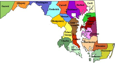 map of maryland near dc maryland state website shopping dining restaurants