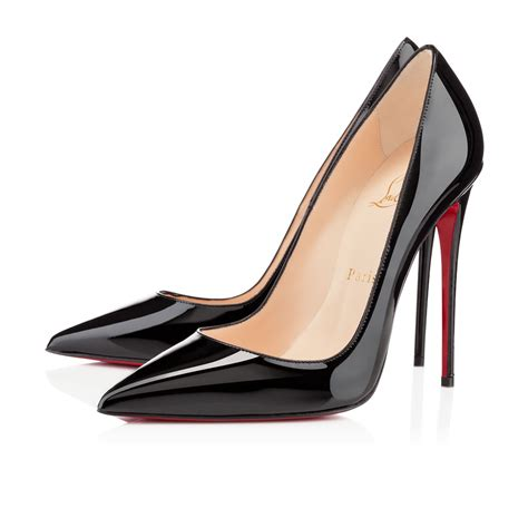 so kate 120 black patent leather shoes christian louboutin
