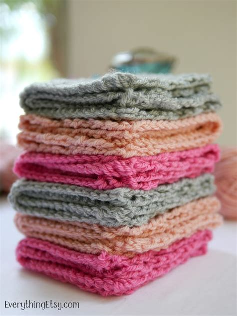 crochet washcloth instructions crochet washcloth pattern free everythingetsy