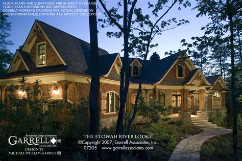 river mountain lodge front desk etowah river lodge house plan house plans by garrell