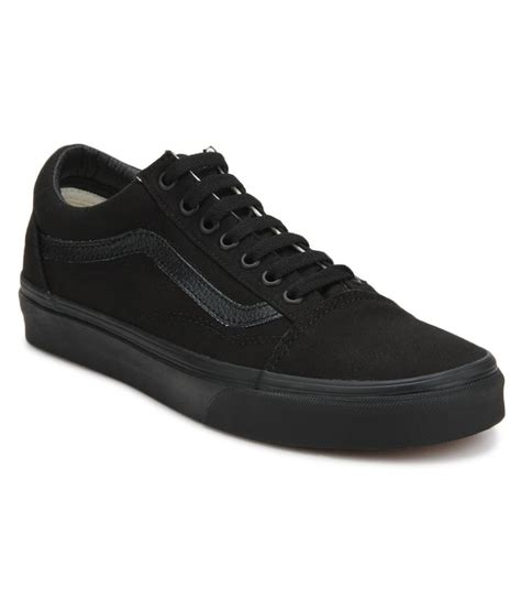 black sneakers vans sneakers black casual shoes buy vans sneakers black