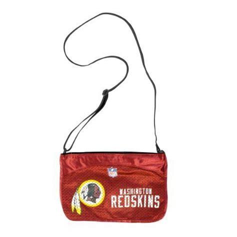 nfl washington redskins jersey mini purse   earth