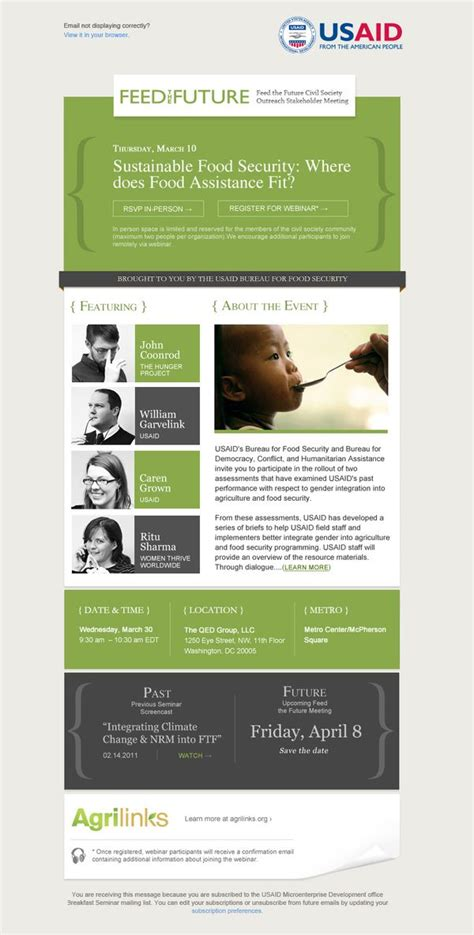 newsletter templates mailchimp usaid email caigns mailchimp template designs by
