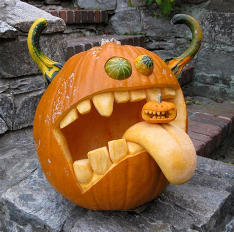 Gymnastics Crafts For Your Room - 63 mindblowing halloween pumpkin carvings picture gallery